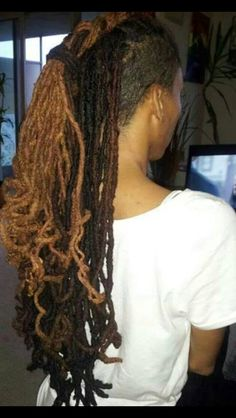 Ebony Black Hair Care - Quality Ebony Hair Products and Weaves Dreadlock Styles, Dreads Styles, Dreadlock Hairstyles, Afro, Ebony Hair, Black Hair Care, Shaved Sides, Natural Styles, Hair Hacks