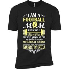 Russell - I Am A Football Mom T ...
