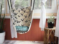 DIY krzesło hamak huśtawka wiszące