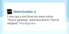 """When moms and texting come together, magic happens. This week on Jimmy Fallon's """"Late Night Hashtags"""" the subject was #MomTexts, which made for some beautiful tweets."""