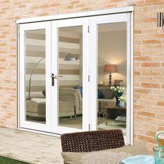 white french doors side sash panels Windows and Doors