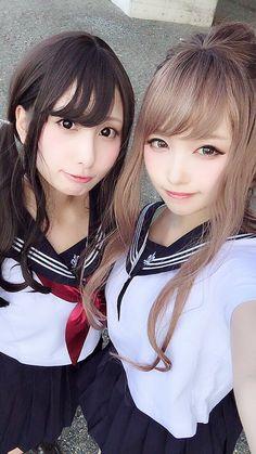 KTN: kawaii (I spelled it wrong huh) Asian Cute, Cute Asian Girls, Beautiful Asian Girls, Cute Girls, Japanese Beauty, Korean Beauty, Asian Beauty, Japan Outfit, Preteen Girls Fashion