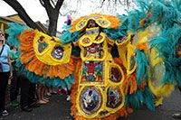 SuperSunday returns when Mardi Gras Indians adorn their colorful, elaborate suits