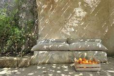 banquette de pierres
