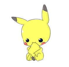 I've never really liked Pikachu, but this is pretty cute.