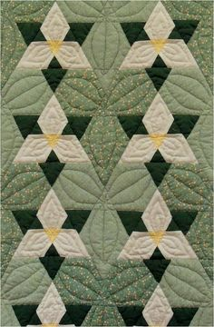 Vintage Hexagon Quilts
