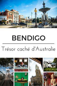A seulement 1h30 de Melbourne, se niche la jolie ville de Bendigo, notre coup de coeur en Australie. Méconnue des touristes, elle a pourtant beaucoup à offrir.  #Bendigo #Australie