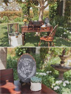 chalkboard wedding signs   photos by http://jackiewondersblog.com/