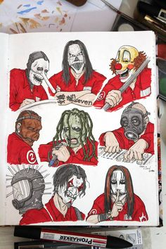 Slipknot - The early years by fieveltrue