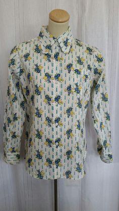 Vintage cotton shirt Vintage Clothing, Vintage Outfits, Vintage Cotton, Shirt Dress, Mens Tops, Shirts, Clothes, Dresses, Fashion