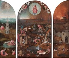 Vincent van #Gogh Shoes on  Hieronymus #Bosch (Netherlander, c. 1450-1516) and workshop, The Last Judgment (Bosch triptych, Bruges), c.1486, Oil-on-wood triptych, 99×117.5cm, Groeningemuseum, Bruges. Vincent Willem van Gogh (Dutch, 1853-1890), The Starry Night, June 1889, 73.7×92.1cm, The Museum of Modern Art, New York. https://en.wikipedia.org/wiki/The_Starry_Night Shoes, 1888, 45.7x55.2cm, The Metropolitan Museum of Art. http://www.metmuseum.org/art/collection/search/436533