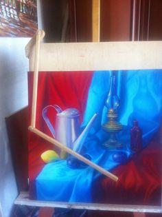 инструменты в живописи, муштабель