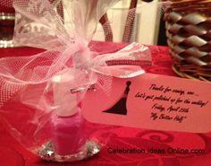 Bridal Shower Veil Nail Polish Favors That I Made Bridal Shower Ideas Pinterest Nail