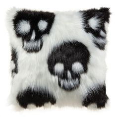 Purchase the Fuzzy Skull Pillow By Ashland™ at Michaels.com. Join the skeletons on the couch at Halloween with this faux fur skull pillow by Ashland.