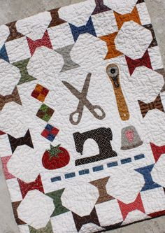 Temecula Quilt Company: Summer Spools - Step Four