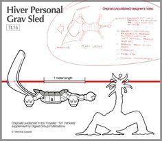 Hiver Grav Sled by RobCaswell.deviantart.com on @DeviantArt