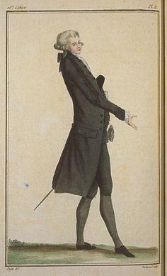 Cabinet des Modes, August 1, 1786, 18e Cahier, 2e Figure.