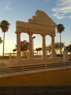Monumento romano, Los Boliches. Fuengirola.