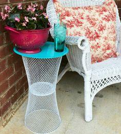 Diy Outdoor Table, Diy Table, Outdoor Decor, Outdoor Ideas, Dollar Tree Decor, Dollar Tree Crafts, Diy Home Crafts, Diy Home Decor, Beach Crafts