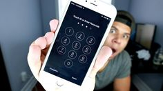 Forgot your passcode and now can't access your iPhone? Ever wanted to unlock someone's iPhone but always ends up frustrated? Here's an awesome iPhone hack… Iphone Hacks, Iphone 10, Logo Spa, Iphone Codes, Hacks Videos, Diy Phone Case, Life Hacks, How To Unlock Iphone, Hack Wifi