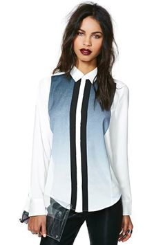 Cameo Tripper Shirt / Cameo / via Nasty Gal / $132 / polyester, dry clean only / WHAT A SHIRT