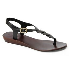Stephanie sandal in Black Leather Sandals, Journey, Shoes, Black, Women, Fashion, Moda, Zapatos, Shoes Outlet