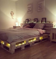 Cute Bedroom Ideas, Room Ideas Bedroom, Girl Bedroom Designs, Small Room Bedroom, Bedroom Decor, Dream Rooms, Dream Bedroom, Aesthetic Room Decor, My New Room