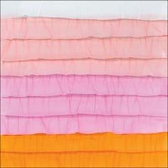 """Dear Lizzy Neapolitan Stitched Ruffle Crepe Paper 12""""X12"""" (American Crafts). As see on the Creating Keepsakes editors blog."""