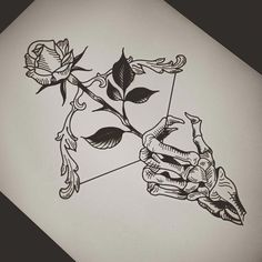 Don't wait for love, but give it – emeline – – Tattoo Sketches & Tattoo Drawings Tattoo Design Drawings, Pencil Art Drawings, Art Drawings Sketches, Tattoo Sketches, Cool Drawings, Beautiful Drawings, Skull Tattoo Design, Drawing Tattoos, Hipster Drawings