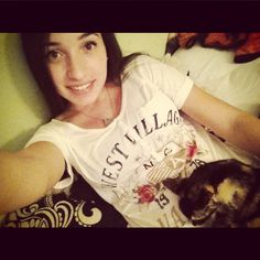 Me and my baby Roxxie<3 #beautiful #gorgeous #adorable #lovely #pretty #cute #kitten #kitty #pussy #cat #love
