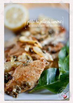 Petti di pollo al limone e capperi di Salina 1
