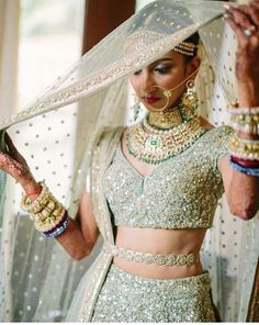 Bride in sabyasachi