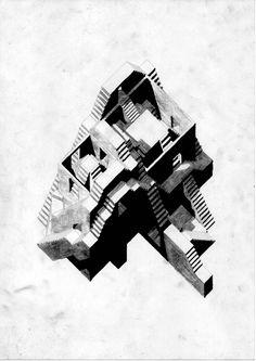 Fragment - Charcoal/Pencil