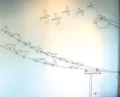 """""""I Once Had a Dream"""", David Zalben (wire work installation)"""