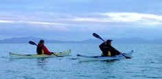 Ecotourism: Canoeing/Kayaking Canoeing and Kayaking can be a great tourist activity as it isn't damaging to the environent, People may be employed to instruct/tour people.