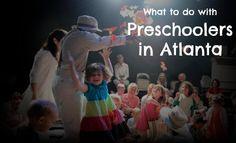 What to do with Preschoolers in Atlanta via @FieldTripswSue