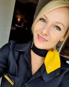 Cabin Crew, Flight Attendant, Silk Scarves, Air, Plane, Aviation, Chokers, Female, Healthy