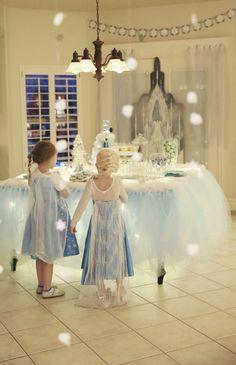 Great Inspiration Ideas for a Disney Frozen Party⭐⭐Fête d'Anniversaire La Reine des Neiges