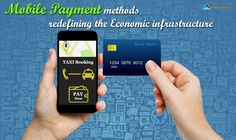 Mobile payment methods with their cutting edge technology would bring in unforeseen changes in the economic infrastructure worldwide. App Development, Ios App, Technology, Tecnologia, Tech, Engineering