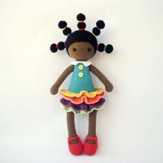 PDF Cute dolls Candice MarineAddy Adeline Crochet Pattern