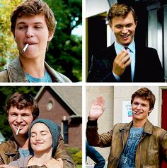 Augustus Waters. He was a special character. He grows and changes throughout this novel. He changes hazels entire life and turns it upside. He changed hazels life from a dull boring everyday routine, to a heart felt love story.