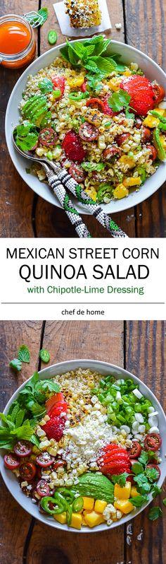 Mexican Street Corn Quinoa Salad Recipe
