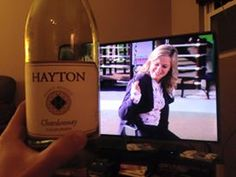 """""""A nice Chardonnay from Barclays Wine and the finale of Parks and Recreation. The perfect combination!"""""""