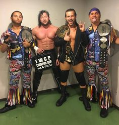 Kenny Omega, Adam Cole and The Young Bucks