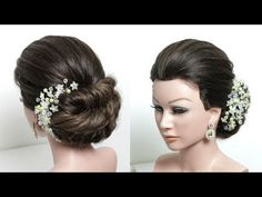 Easy Braided Bun. Updo Hairstyle Tutorial For Long Hair Step by Step - YouTube