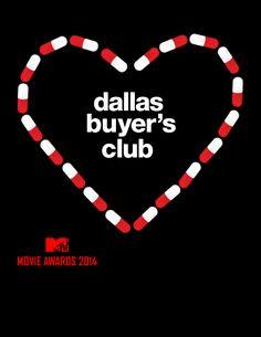 Dallas Buyers Club (2013) ~ Minimal Movie Poster ~ 2014 MTV Movie Awards #amusementphile