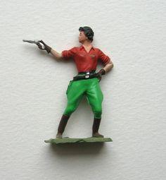 Vintage female pistol holster miniature sandplay by RememberThat1