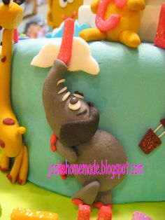 Happy birthday Eunice Thanks Whitney Yee for ordered, and thanks for sharing the photo with us. Baby Tv Cake, Tv Themes, Happy 1st Birthdays, Novelty Cakes, Cupcake Cakes, Cupcakes, Gum Paste, Fondant Animals, Birthday Cake