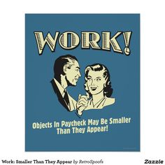 Work: Smaller Than They Appear Poster