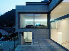 House in Lumino by Davide Macullo Architects | Enrico Cano